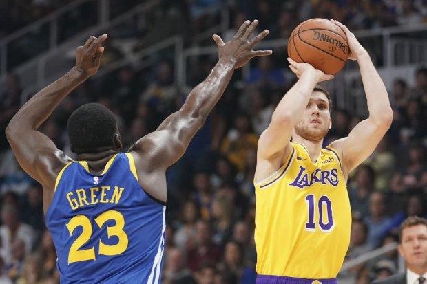 Українець Михайлюк встановив рекорд у НБА