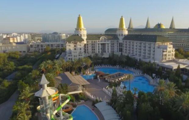 Отдых в Турции, скриншот: YouTube