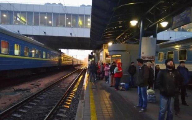 Эвакуация ЖД вокзала в Киеве: что известно на данный момент