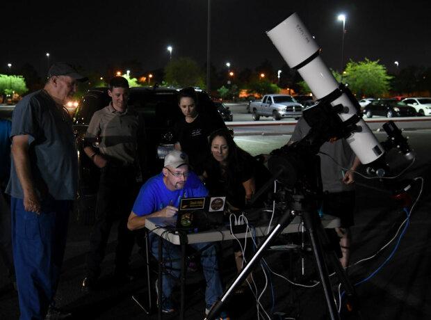 Спостереження за астероїдом, фото: Gettty Images