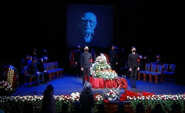 похороны Армена Джигарханяна, фото из свободных источников
