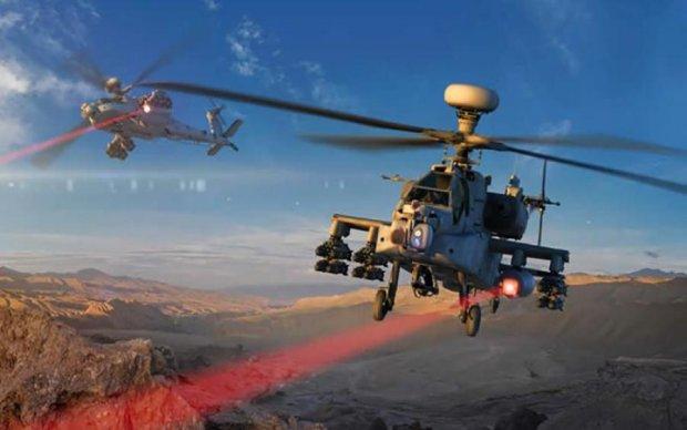 """США вооружили """"Апачи"""" боевыми лазерами"""
