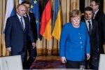 """Нормандский саммит: Меркель рассказала о договоренности относительно """"формулы Штайнмайера"""""""