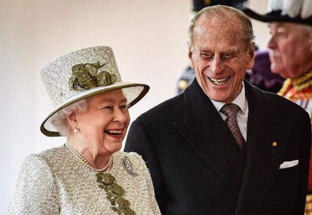 Єлизавета II і принц Філіпп, PA