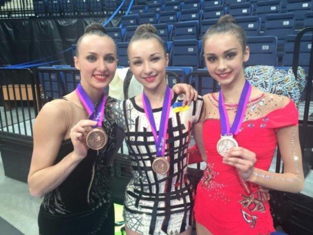Українські гімнастки завоювали бронзу на чемпіонаті Європи