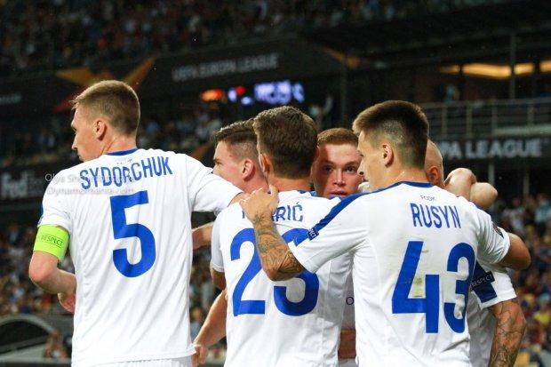 Лига Европы: Динамо вело в два гола, но не выиграло матч