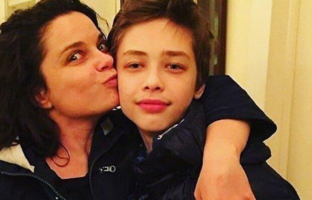 Наташа Корольова з сином, instagram.com/koroleva__family