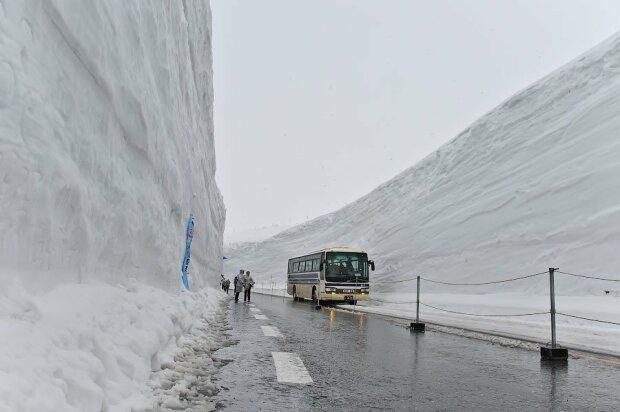 Снігопад, фото - Пикабу