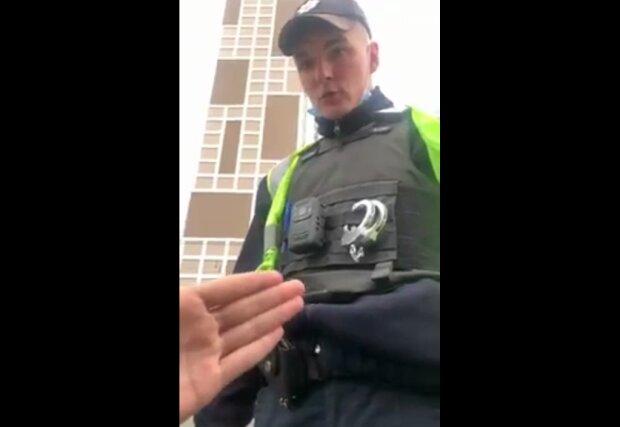 Київські патрульні вразили нахабством: витягли з машини і залили балончиком очі