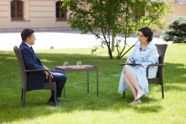 Зеленський і Мосейчук, фото: Офіс президента України