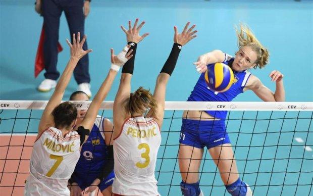 Украинские волейболистки досрочно вышли в полуфинал Евролиги