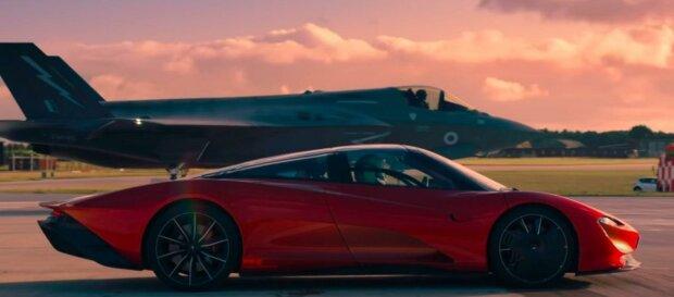 McLaren проти винищувача, скріншот відео