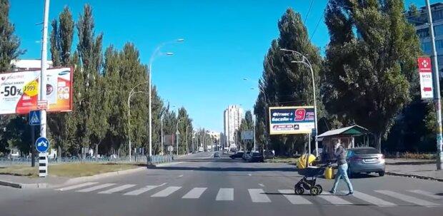 Пешеходный переход, скриншот с видео