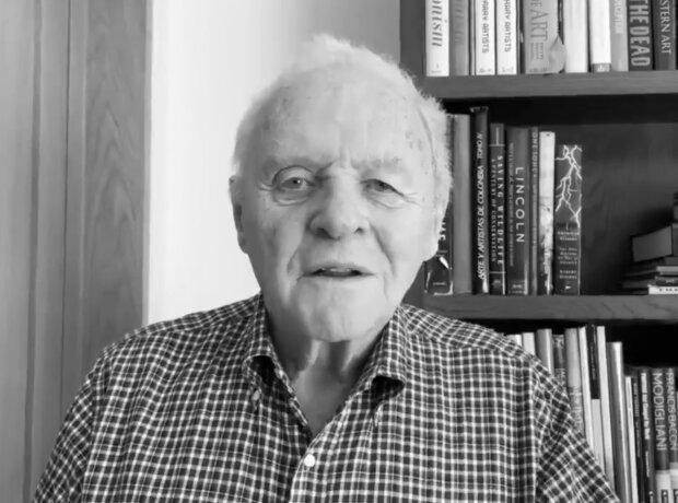 Энтони Хопкинс, скрин с видео