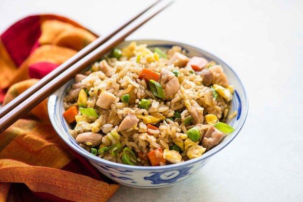 Вкусно и полезно: курица с жасминовым рисом