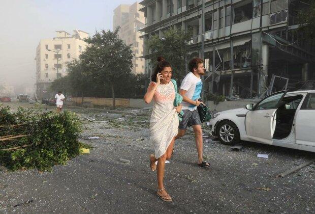 Вибух в Бейруті, фото Reuters