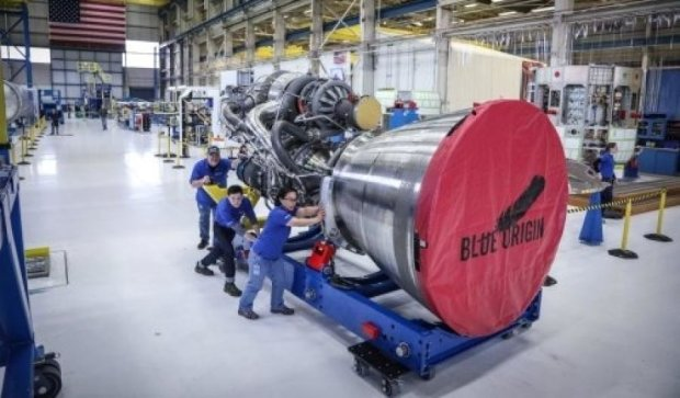 Blue Origin строит ракету-тяжеловеса