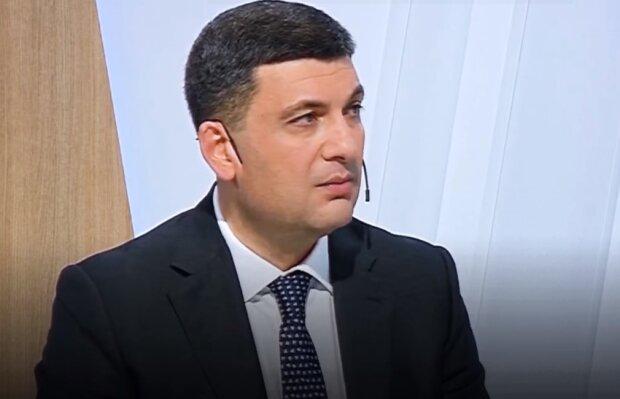 Володимир Гройсман, скріншот відео