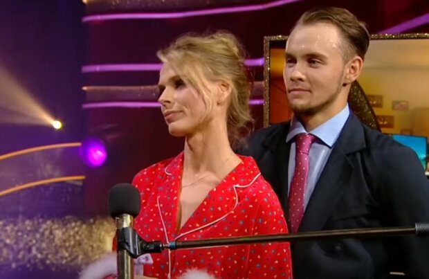 """Оля Фреймут на """"Танцях з зірками"""", скріншот відео"""