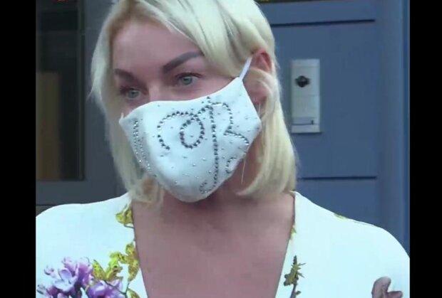 Анастасія Волочкова, скріншот з відео
