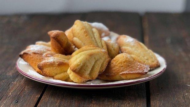 """Рецепт французького печива """"Мадлен"""" з цитрусами"""