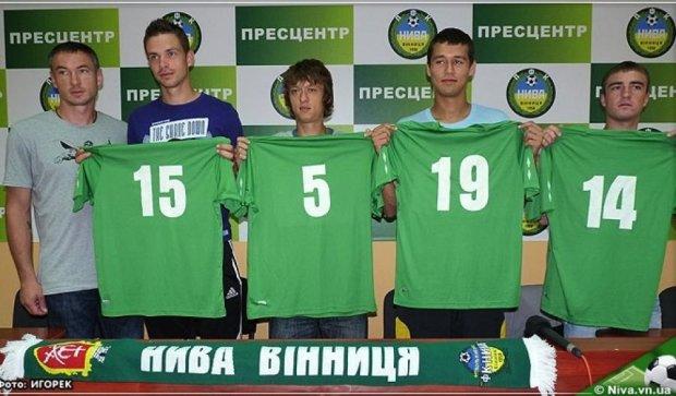 Футбольну «Ниву» відродили у  Вінниці
