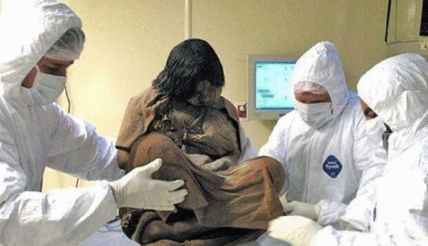 Заморожена мумія, фото: chydo-svit.top