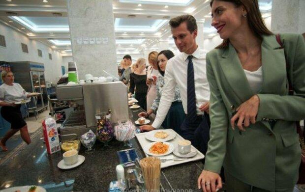 Їдальня Верховної Ради, фото: Олександр Гончаров