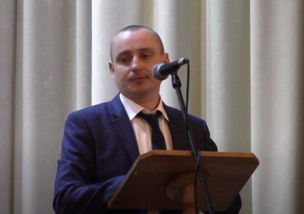 Председатель Дрогобычской райгосадминистрации Омелян Стасула, скриншот