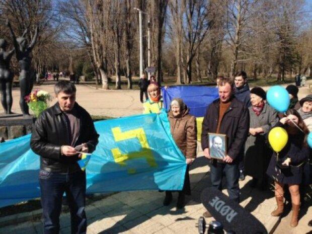 Кримські патріоти святкують день народження Шевченка