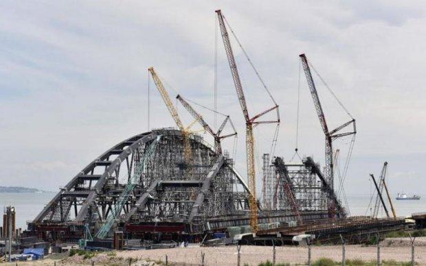 Строительство Керченского моста: оккупанты взялись еще за кое-что