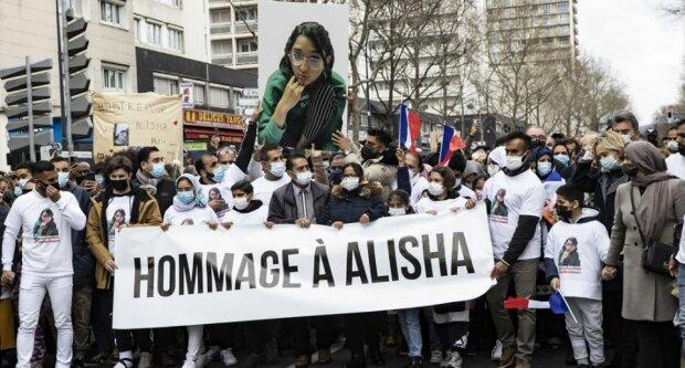 Марш в пам'ять про дівчину, фото: ААР