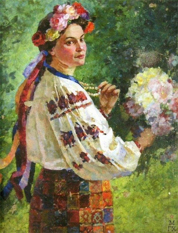 Квітки, вишиванки, коралі: як одягались українські красуні до свят