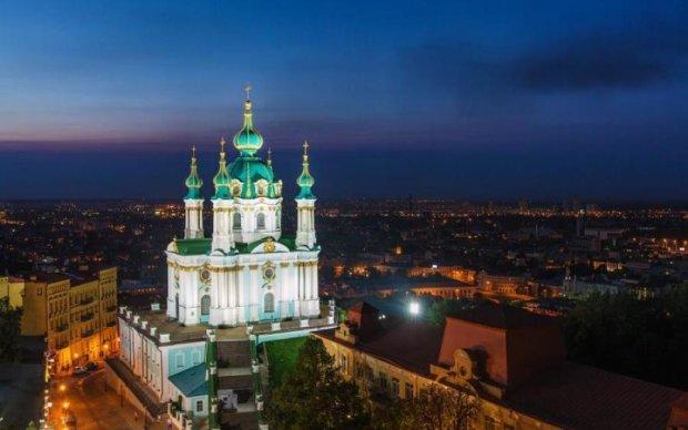 В сети впервые показали обновленную Андреевскую церковь: фото
