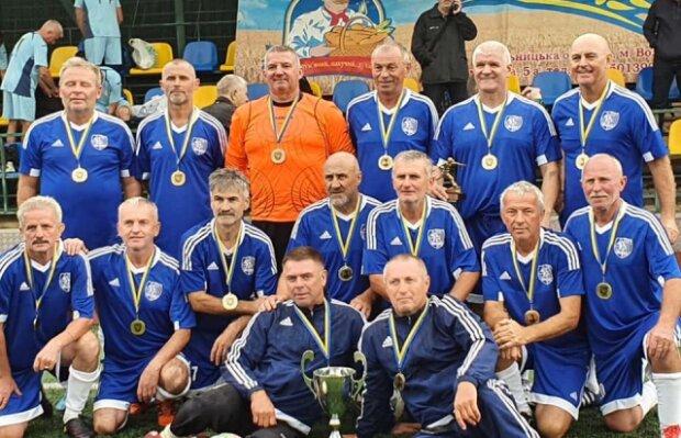 Ветераны Мукачево стали чемпионами Украины, фото mukachevo.net