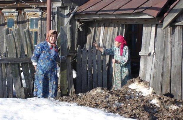 жительки села
