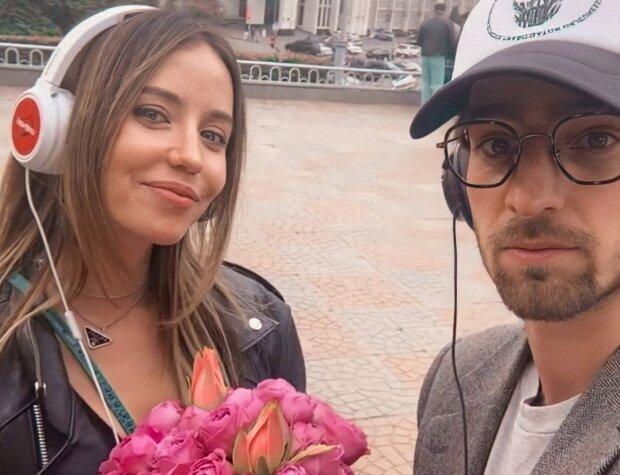 Владимир Дантес и Надя Дорофеева, фото с Instagram