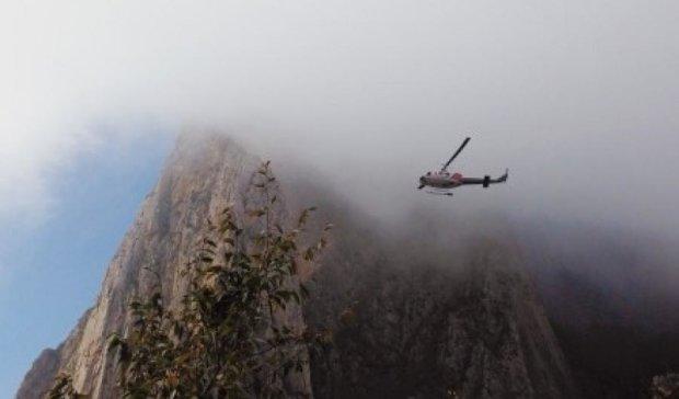 У Мексиці під час польоту вибухнув поліцейський гелікоптер