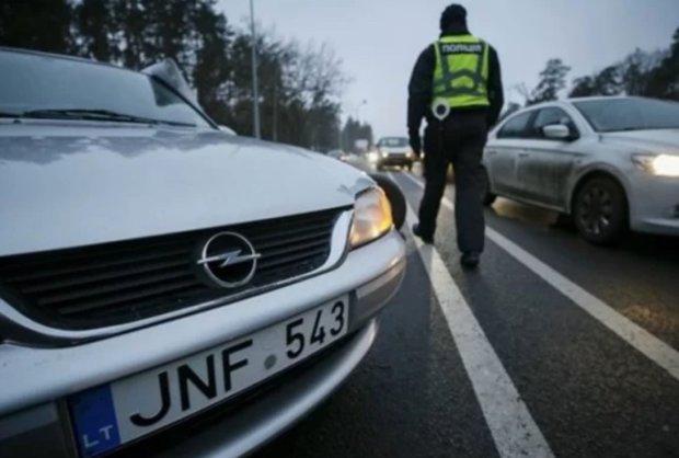 Першу в Україні євробляху розмитнили за новими правилами