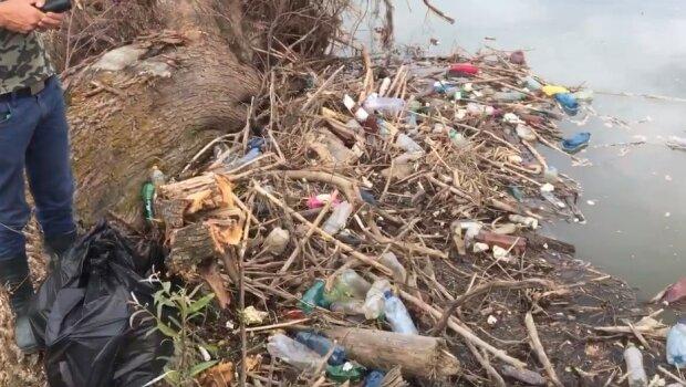 загрязнение рек, скриншот из видео