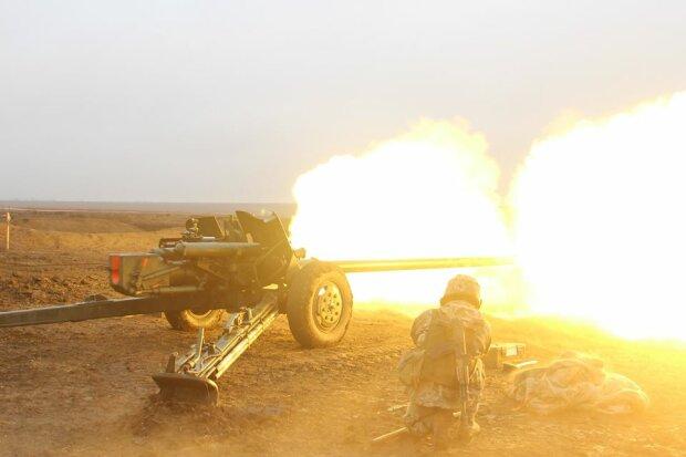 война на Донбассе, фото штаб ООС