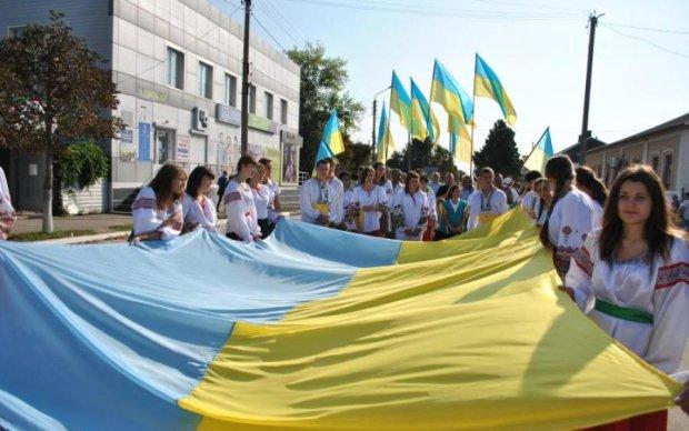 Украинцы в оккупации передали трогательное поздравление