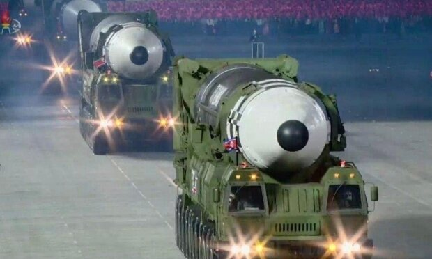 Ракета КНДР, скриншот: YouTube