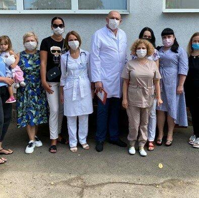 В Черновицком детском отделении онкогематологии, фото с facebook