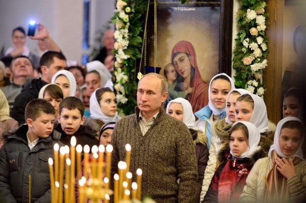 """Их в аду ждут, а они по церквям гуляют"": в сети высмеяли нелепую ошибку Путина, фото"