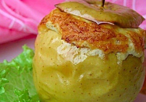 Запечені яблука, фото: instagram.com/cooking_mag