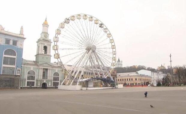 Карантин в Украине, скриншот: ТСН