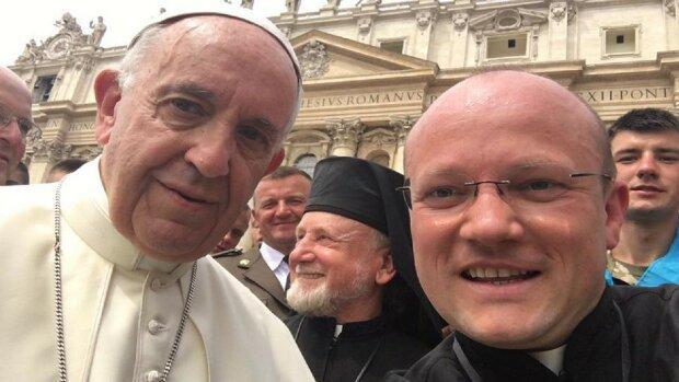 Степан Сус у Ватикані, фото: Суспільне