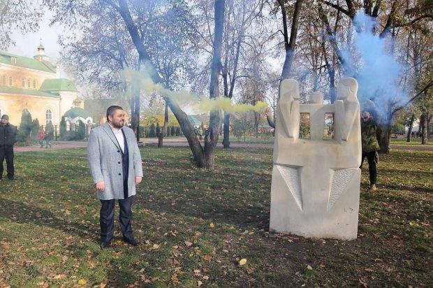 В Прилуках по инициативе Сергея Коровченка прошел самый масштабный скульптурный пленэр в Украине