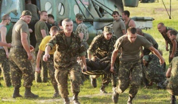 В АТО загинув український боєць, п'ятеро поранені